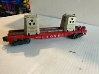 4 Lionel Flat Cars From the 1950's - 1960's and 1995