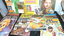 Vintage How to Drawing/Paint Art books Lot of 17 by Walter T. Foster and Others