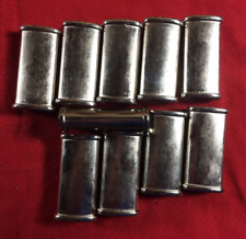 Wholesale  Lot of 100 Small Blank Mini Metal Lighter Case Great for Custom Cases