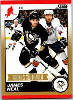 JAMES NEAL 2010-11 Score Rookies and Traded Gold #585 ($0.75 MAX SHIP)