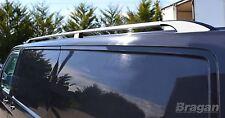 2004 - 2015 VW Transporter T5 LWB Caravelle Aluminium Alloy Roof Rails Bars