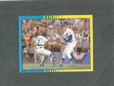 1982 O-Pee-Chee Baseball Sticker World Series #259 Jerry Reuss Steve Yeager MINT