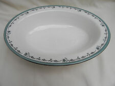 Royal Worcester SEA ROSE OVAL VEGETABLE DISH 26.5cm x 19.5cm x 5.5cm, (No 2.)