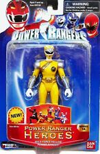 """Power Rangers Wild Force Series 14 Yellow Ranger Heroes 5"""" FACTORY SEALED 2006"""