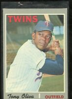 1970 TOPPS #510 TONY OLIVIA TWINS NM+ D019876