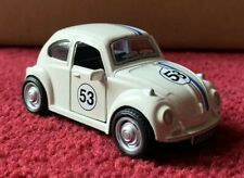 1:38 Vw Volkswagen Bug Beetle Herbie Replica Pull Back Diecast Free Shipping!
