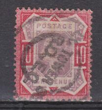Great Britain 96 SPECIAL CANCEL Victoria 1887 VEILING oude POSTZEGELS ENGELAND