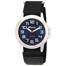 Ravel Gents Easy Fasten Sports Work Navy  Dial Watch R1601.65.16