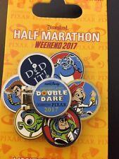 Disney Marathon Pixar Monsters, Inc. Toy Story Mike Jessie Woody Buzz Spin Pin