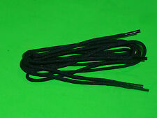 SHOELACES 100CM FINE ROUND BLACK LACES * IN AUSTRALIA ** SHOE LACES ,BOOTLACES