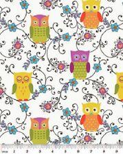 1 Half Metre Length Owlivia Owl Print Fabric - 2241-9