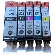 5X  Set Original Canon für Pixma  IP3600 4600 MP540 MP550 MP560 MP640