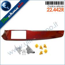 Kit mascherina autoradio 2DIN Alfa Romeo Giulietta (dal 2010) colore rosso
