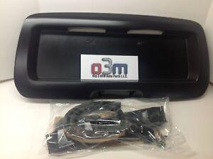 02-09 Chevrolet Trailblazer GMC Envoy Lift Gate License Plate POCKET new OEM