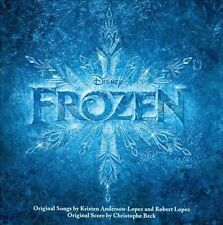 FROZEN ORIGINAL WALT DISNEY RECORDS SOUNDTRACKS CD