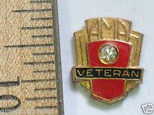 AMA Veteran Motorcycle Pin (#218)
