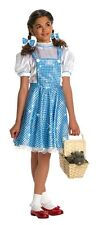 DOROTHY SEQUIN COSTUME Wizard of Oz Girls Small 4-6 Rubie's Child Halloween NEW