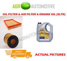Huile diesel filtre à air kit + ll 5W30 huile pour opel corsa 1.7 65 bhp 2000-03