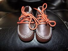 JANIE AND JACK  BABY BOY BROWN BOOTS SIZE 2 NWOT FREE USA SHIPPING