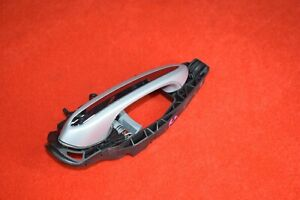 BMW G30 530 540 640 840 M5 Left Ext Door Grab Handle Comfort Access Silver Oem