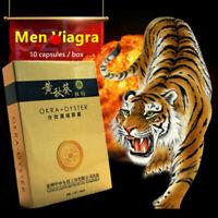 Men Herbal Okra Oyster Tablet Male Enhancement Pills Strong Erection Supplements