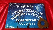 Wooden Ouija Board Game Bizarre Howling Wolf & Planchette Instructions Ghost ESP