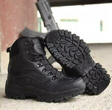 New Mens Military Tactical Desert Hunting Lightweight Combat Shoes Leather Boots