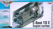 CMK 1/72 U-Boat Tipo VIIC Motor sección para Revell # N72003