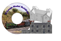 376 Digital Model Buildings for O Gauge Model Railways on DVD