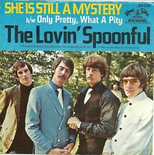 "Lovin' Spoonful-She Is Still A Mystery/Only Pretty-w/PS-45 RPM-7""-single-vinyl"