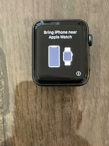 Apple Watch Series 3 42mm Space Gray Aluminum Case LTE Used