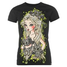 CUPCAKE CULT MOTHER/DRAGONS WOMEN'S GOTH/PUNK BLACK TEE - SIZE XL - NEW/TAGS