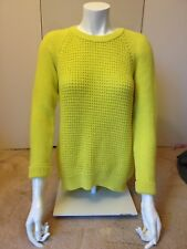 Brand new with tag neon yellow Topshop jumper with tag size 4-6