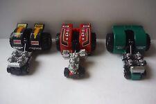 "Micro Machines Tuff Trax Collection #4 ""Full Set"" Galoob Lot Near Mint 1991"