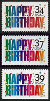 #3558, 3695 & 4079 Happy Birthday!, Mint **ANY 4=FREE SHIPPING**