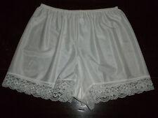 Vintage Silky Shiny Nylon Lacy Tap Pantie French Knickers UK16-18