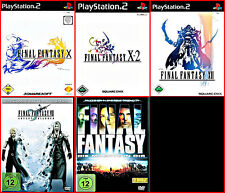PS2 3Games +2 DVD: Final Fantasy XII + x +x2-3 Role Playing by Square Enix