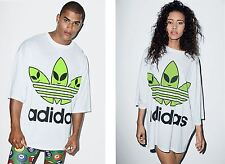 Adidas Originals Jeremy Scott Oversized Alien Tee T Shirt Mens Womens Unisex