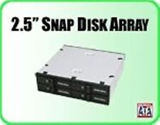 "Addonics AESN4DA25 2.5"" Snap-In Disk Array A 5 1/4"" Drive Bay, 4x 2.5"" HDD"