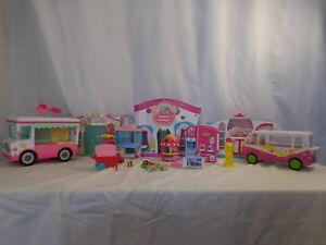 Shopkins Fashion Boutique + Small Mart + Sweet Spot + Ice Cream Truck + Shopkins