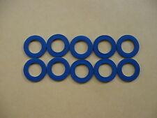 10 PC OIL DRAIN PLUG WASHER OEM BLUE GASKETS (P/N 90430-12031) FITS TOYOTA/LEXUS