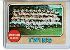 1968 TOPPS TWINS TEAM CARD #137 ( EX-MT OR BETTER )