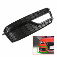 Right Front  Bumper Grill Fog Light Cover Set For AUDI A5  S-LINE 2013-2015