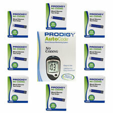 NEW Prodigy AutoCode Meter with 8 Boxes (400ct) of Test Strips Free Shipping