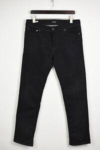 Jack & Jones Slim Fit / Tim Homme W34 L32 Extensible Bleu Foncé Jean 35191-GS