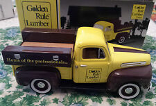 SpecCast 1948 Ford F-1 Golden Rule Lumber 1:25 Scale Die Cast b1