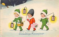 BG8639 children gifts champagne  nieuwjaar new year greetings netherlands