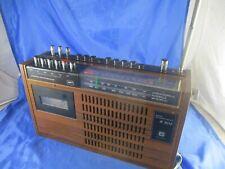 Stern Radio Recorder R1613 DDR RFT Kasette 70er Jahre Funktionsfähig Holzgehäuse