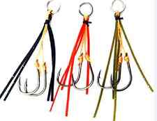 3X Stinger Hooks Blade Vibes Fishing Lure Retrofit Eco Shrimp Bream ZX VX Gulp