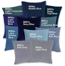 Mf Turquoise Blue Navy Royal Blue Microfiber Velvet Cushion Cover/Pillow Case